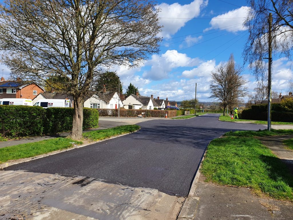 Milepave™ at Hockenhull Avenue, Tarvin
