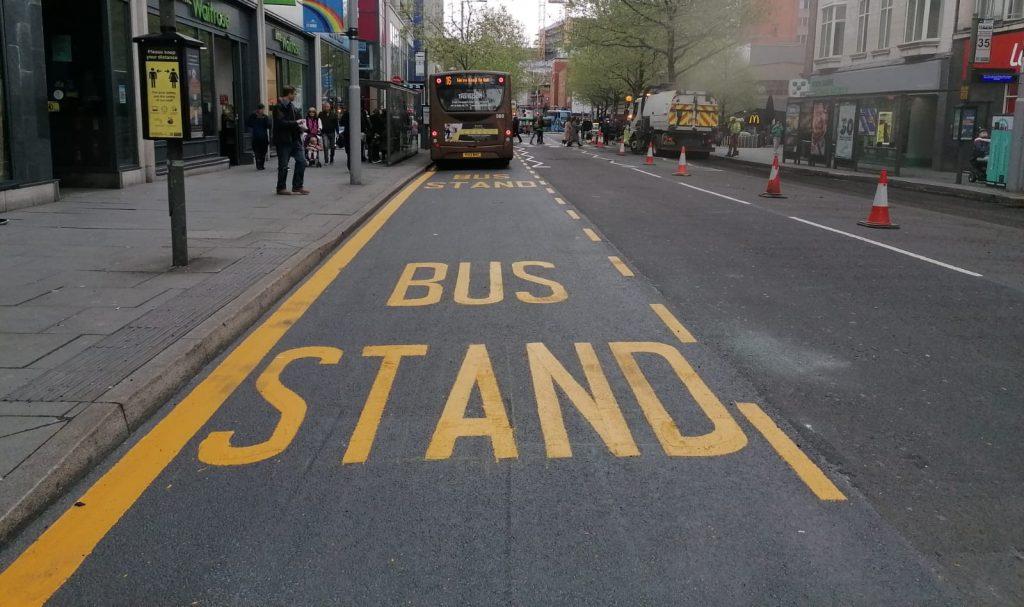 Nottingham City Bus Stop Scheme