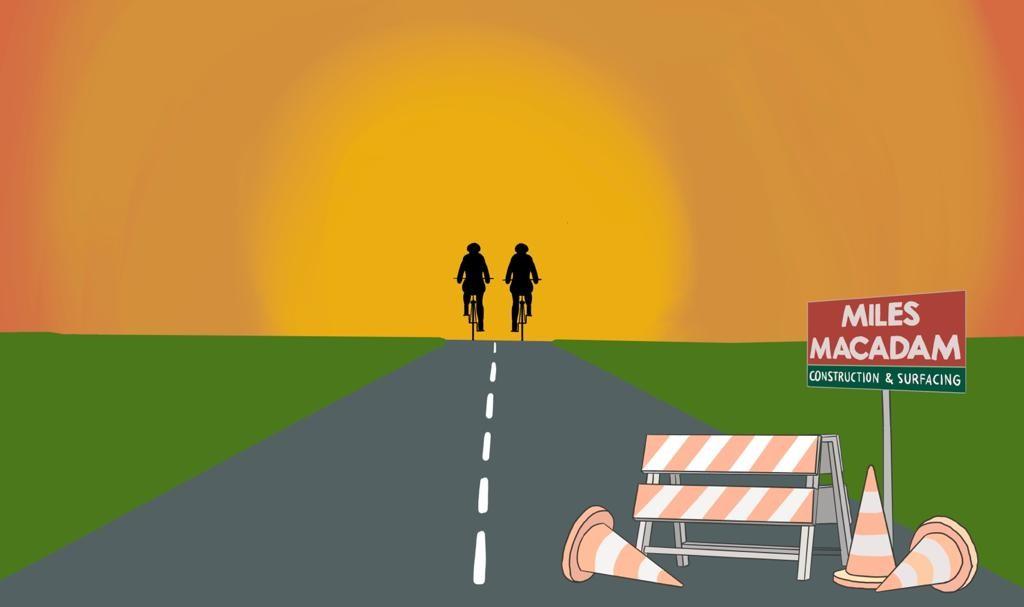 Miles Macadam Sponsored Cycle for Trinity Hospice